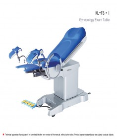KL-FS series gynecological table